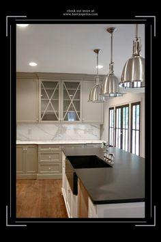 Kitchen Sink Pendant Lighting Ideas Kitchen Sink Lighting, Kitchen Lighting Design, Lithonia Lighting, Lighting Ideas, Pendant Lighting, Glass Pendant Light, Kitchen Styling, Cool Kitchens, Sweet Home