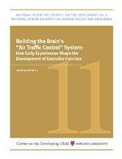 """Building the Brain's """"Air Traffic Control"""" System: How Early Experiences Shape the Development of Executive Function"""