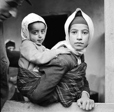 Young Mother and her Child, Northern Iran Circa 1950's