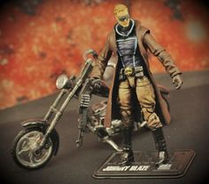 Johnny Blaze (90's Style) Custom Action Figure  Are you a fan of 90's era Marvel Comics!?  Check out the orignal GHOST RIDER JOHNNY BLAZE as he appeared during that time!  Complete with Hellfire shotgun and motorcycle!  #toystagram, #toycommunity, #toycollection, #customactionfigure, #art, #artist, #onebaynow, #actionfigure, #collectible, #comics, #toyrevolution, #toyphotography, #marveluniverse, #custommarveluniverse, #marvel, #marvelcomics, #90scomics, #ghostrider, #johnnyblaze, #superhero