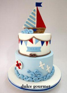 Sailing Cake by Silvia Caballero