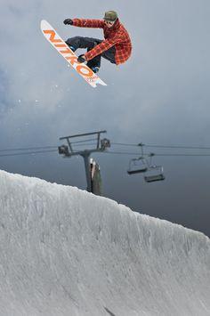 Austin Smith (wedrinkwater) Photo: gfureyphoto Follow High Cascade Snowboard Camp