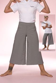 cute new style of chef pants for women!