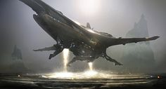 concept ships: Spaceships and environments by Emmanuel Shiu
