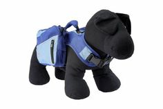 Henry and Clemmies Dog Backpack, Small, Blue - http://www.thepuppy.org/henry-and-clemmies-dog-backpack-small-blue/