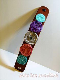Cute rosette bracelet.