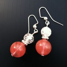 Cherry and Crackle Crystal Quartz Clarity by TripIntoLight on Etsy, $5.00