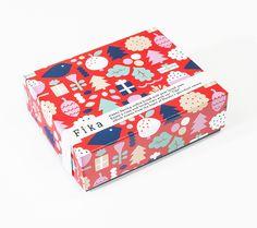 Christmas/Leena Kisonen Design Packaging, Japanese Design, Grafik Design, Package Design, Bright Colors, Packing, Branding, Illustrations, Marketing