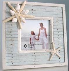 Seashell and Seaglass Creations by Beach Grass Cottage Seashell Crafts, Beach Crafts, Coastal Cottage, Coastal Decor, Beach Room, Cool Ideas, Nautical Theme, Nautical Mirror, Beach Themes