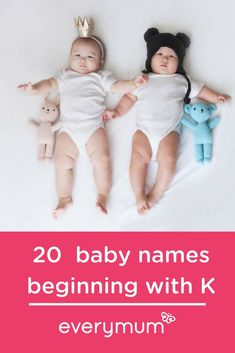 20 Killer Baby Names Beginning With The Letter K. The letter K has some awesomely killer name options to choose from. Want to name your baby with K? From Kenny to Kerry, Kurt to Kate, have a browse through and make sure to let us know your favourites in t Celtic Baby Names, Irish Baby Names, Vintage Baby Names, Unique Baby Names, Celebrity Baby Names, Celebrity Babies, K Names, Baby Name Letters, Name Inspiration