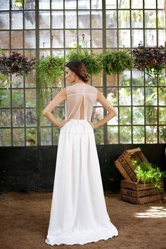 Vestido de novia de Marta Martí Atelier