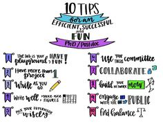 10 tips for an efficient, successful, and fun Ph.D./postdoc experience! | AAAS - The World's Largest General Scientific Society