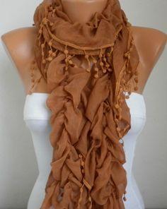 Infinity Scarf   scarf shawl  Sale scarf  Silvery  Free by anils, $19.90