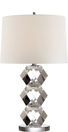 Ralph Lauren Diamond Crystal Lamp Courtesy of InStyle-Decor.com Beverly Hills Inspiring & supporting Hollywood interior design professionals and fans, sharing beautiful luxe home decor inspirations, trending 1st in Hollywood Repin, Share & Enjoy