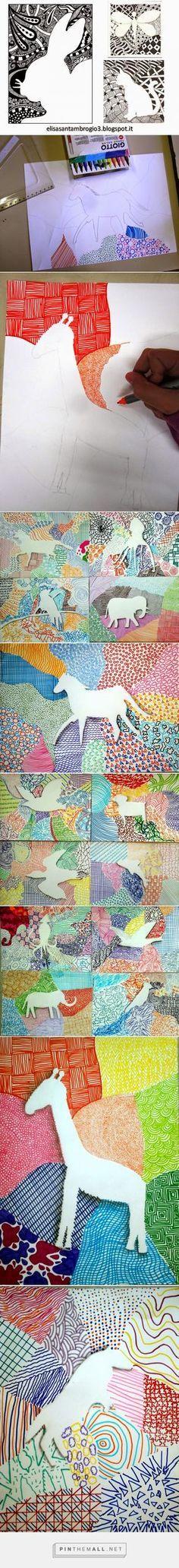 immagin@rti: Background texturizzato. Gli animali. - created via http://pinthemall.net