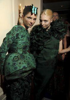 Backstage parade Giambattista Valli Haute Couture
