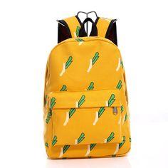 Lovely Korean Canvas Casual Backpack Bag