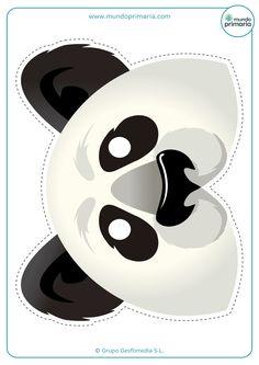 Descarga esta careta de oso panda para imprimir de entre nuestra colección de caretas de animales. Crafts For Kids, Arts And Crafts, Paper Crafts, Panda Party, Kung Fu Panda, Vacation Bible School, Boy Birthday, Party Themes, Spiderman