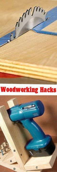 DIY Hacks: 8 Woodworking and Handyman Money Saving Tips: http://vid.staged.com/gD3s #woodworkinghacks