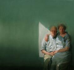 Mysterious, soft, and wonderfully-brushy work of Benjamin Bjorklund