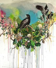 Lori  Pensini - Banskii Bush Bouquet