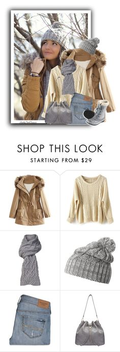 """""""Parka For Snow Day"""" by honkytonkdancer ❤ liked on Polyvore featuring UGG Australia, Helly Hansen, Abercrombie & Fitch, L.L.Bean, women's clothing, women, female, woman, misses and juniors"""