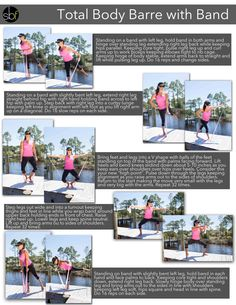 My Total Body Barre Workout with Band is featured on FitFluential today! So honored to be a contributor to this amazing site! smile emoticon #FITFLUENTIAL #barre #sbf #freeworkout #totalbody #barreamped