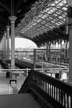 La estación de Liverpool Street 25 de de julio de 1976.