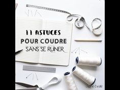 10 Tips to Use the Cricut Maker for Sewing: The Cricut Maker is the perfect tool., Informations About 10 Tips to Use the Cricut Maker for Sewing: The Cricut Maker is the perfect to Hand Sewing Projects, Sewing Crafts, Sewing Kit, Sewing Hacks, Boutique Haute Couture, Coin Couture, Diy Organisation, Basic Crochet Stitches, Sewing Stitches