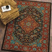 Rainstorm Turquoise Rug Collection