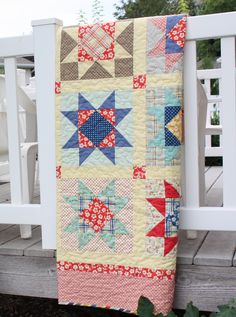 Diary of a Quilter - a quilt blog: Seaside Stars - New Quilt Pattern