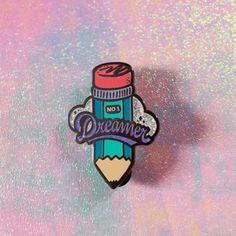 'Dreamer Pencil' Pin (2 Colors!)