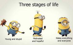 Minion Humour, Funny Minion Memes, Funny School Jokes, Minions Quotes, Funny Laugh, Stupid Funny, Funny Jokes, Funny Happy, Mom Jokes