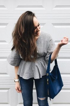 The Maya leather hobo handbag takes you from work to weekend. via @ julianarenee