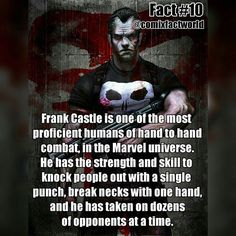 I'm loving Punisher in Daredevil season 2! Thanks for 200 followers guys! ■ Comment a character you'd like to see a fact about! ■ #ThePunisher #FrankCastle #Daredevil #Marvel #MarvelComics #ComicFacts