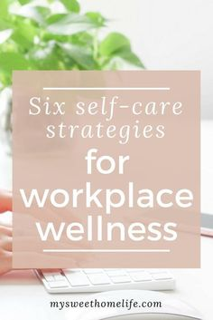 While we're becoming increasingly aware of the importance of self-care in our daily lives, it's not always true to say that that knowledge carried over to the workplace. These six self-care strategies for workplace wellness are positive, proactive places Wellness Activities, Self Care Activities, Wellness Programs, Wellness Tips, Anxiety Relief, Stress Relief, How To Be A Happy Person, Workplace Wellness, Workplace Productivity