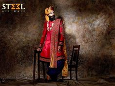 Sherwani is the perfect traditional wedding outfit not just for the grooms, but also for the other men attending the function.   Drop in at Steel All Male's store NOW & shop this versatile  Indo-western sherwani to get the lookastic mode ON :)  #Sherwani #Wedding #IndianWedding #Menswear #Clothing #Versatile #Ethnic #ExclusiveCollection #Traditional #IndoWestern #GroomWear #DulhaCollection #Lookastic #Flaunt #BestDressed #SteelAllMale #Satellite #Ahmedabad