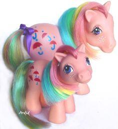 My little pony, jaren 80 nu speelt mijn dochter er mee in een vernieuwde versie