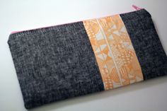 Indian Summer Zip Pouch - from Marta with Love