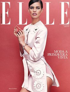 Rianne ten Haken Sports Elegant Style for Elle Spain's March Issue by Xavi Gordo | Fashion Gone Rogue: The Latest in Editorials and Campaigns