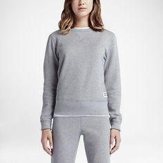 Converse Essentials Sportswear Crew Women's Sweatshirt Size Medium (Grey)