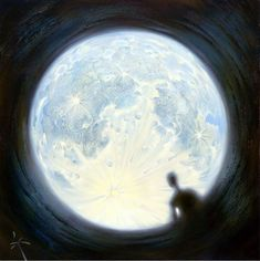Dreamlike Paintings Create Larger-Than-Life Worlds - DesignTAXI.com