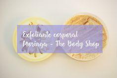 Exfoliante corporal de Moringa de The Body Shop