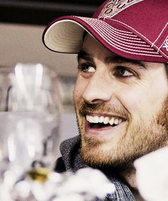 Colin O'Donoghue in a hat no less lol. @Hailey Phillips Corrigan @StyleSpaceandStuff.Blogspot.com Heaney