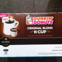I am kind of peeved that these are only for sale in stores, not to mention the fact that they are pretty expensive K cups. However, the coffee is very very good!