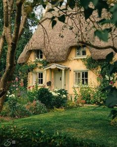 Earth Sheltered Homes, Off Grid House, Thatched Roof, Eco Friendly House, Rose Cottage, Beautiful Buildings, Architecture Details, Britain Uk, The Best