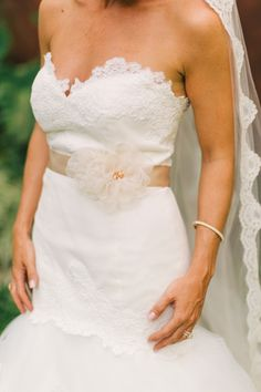 Gorgeous lace dress: http://www.stylemepretty.com/new-jersey-weddings/2014/10/17/new-jersy-backyard-barn-wedding/ | Photography: Jenelle Kappe - http://jenellekappe.com/