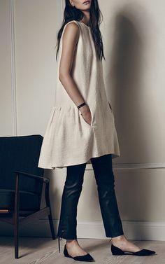 Bianca Tweed Shift Dress by HELLESSY for Preorder on Moda Operandi