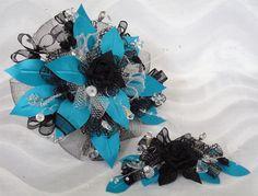 Turquoise Quinceañera Bouquet hcbg-01 | Heidi Collection
