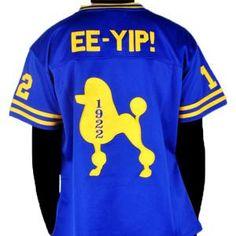 Sigma Gamma Rho jersey